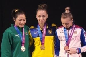 Українська гімнастка Варінська виграла етап Кубка світу