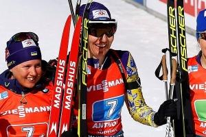 """Українки здобули """"бронзу"""" чемпіонату світу з біатлону в Італії"""
