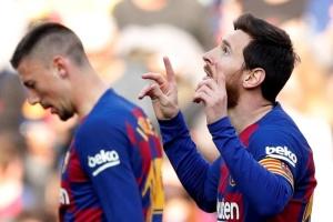 Покер Мессі приніс «Барселоні» перемогу і вивів на перше місце