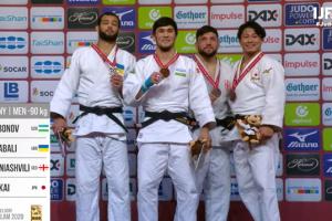 El judoca ucraniano Nhabali gana la plata del Grand Slam en Dusseldorf