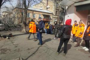 Unwetter in Odessa: Frau von Baum erschlagen