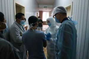 Скалецька у Нових Санжарах відвідала евакуйованих із Китаю