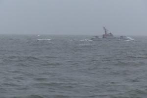 За стрельбами ВМС Украины в Азовском море следили катера ФСБ