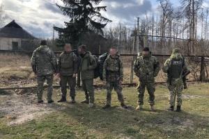 """Прикордонники спіймали чотирьох """"сталкерів"""" у зоні відчуження ЧАЕС"""