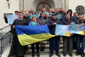 У Вільнюсі відбувся флешмоб «Крим – це Україна»