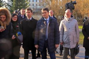"""Разумков анонсує розширення співпраці Ради з групою """"Балтік плюс"""" і """"північною п'ятіркою"""""""