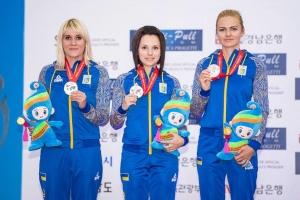 Женская сборная Украины стала чемпионом Европы в стрельбе по движущейся мишени