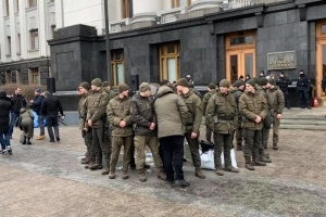 """Самоподжог на Банковой: Сумская ОГА не может решить """"земельный вопрос"""" протестующего"""