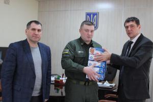 Пограничники Ривненщины получили бесконтактные термометры для скрининга прибывших