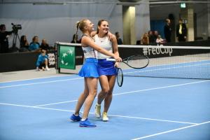 Теніс: Україна хоче перенести матч проти Японії в Кубку Федерації