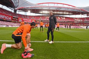 """Футболісти """"Шахтаря"""" провели передматчеве тренування в Лісабоні"""