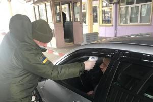 На кордоні з Молдовою почали температурний скринінг