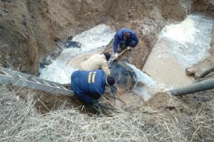 У Пісках на Донеччині обстежили та відремонтували водогін - штаб ООС