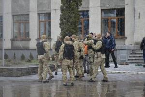 Задержали более 20 нападавших на Жмеринский горсовет