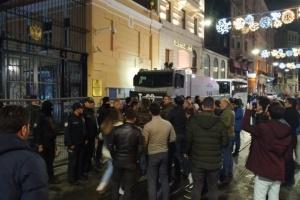 У Стамбулі пройшла акція протесту проти дій РФ у Сирії
