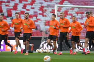 """Футболісти """"Шахтаря"""" в 1/8 Ліги Європи хотіли б зустрітися з командою Фонсеки"""