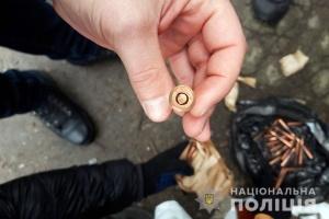 У двох киян вилучили пістолет-кулемет і боєприпаси