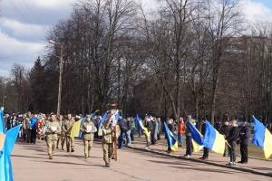У Шостці попрощалися із загиблим на Донбасі бійцем