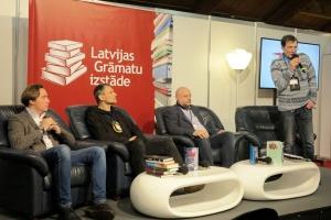 На книжной выставке в Риге представили большую украинскую программу