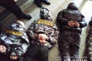 В суде, где избирали меру пресечения жмеринским задержанным, распылили газ