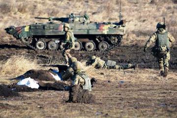 Donbass : les troupes russes déploient des mortiers lourds