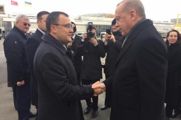 Erdogan nach Kyjiw eingetroffen