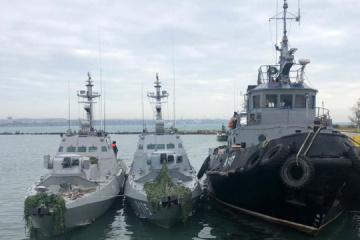 Russian shell fragments found in Ukrainian Berdyansk boat after ballistics examination