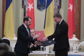 Ukraine, Turkey sign agreement on cooperation in defense sector