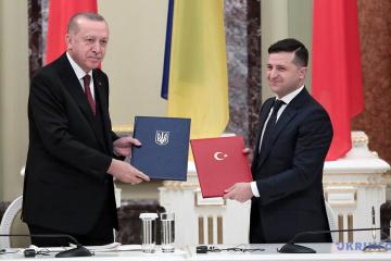 Selenskyj bespricht mit Erdogan Transport von Kaspischem Gas in die Ukraine über TANAP