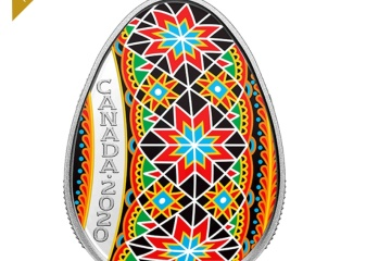 Royal Canadian Mint again issues pysanka coin