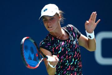Tennis: Kalinina schafft in die zweite Runde des ITF-Turniers in den USA