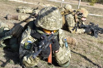 Lage in der Ostukraine: 15 Angriffe der Besatzer, ein Soldat verletzt