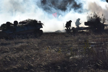 Invaders fire banned mortars in Donbas. One Ukrainian soldier wounded