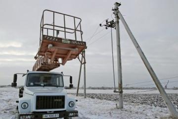 Se producen apagones en 600 localidades de Ucrania