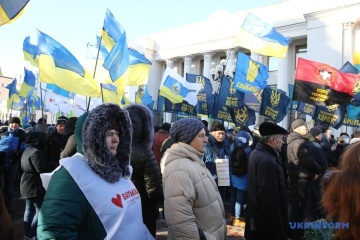 Kyiv : Les agraires manifestent contre l'ouverture du marché foncier