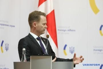 Jeppe Kofod : Le Danemark soutient l'intégrité territoriale de l'Ukraine
