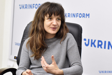 Iryna Tsilyk, la réalisatrice du film «The Earth Is Blue as an Orange»
