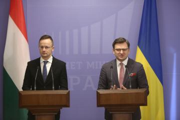 Szijjarto macht der Ukraine zwei Vorschläge zum Bildungsgesetz