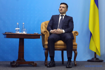 Präsident Selenskyj beginnt seinen Besuch in Italien