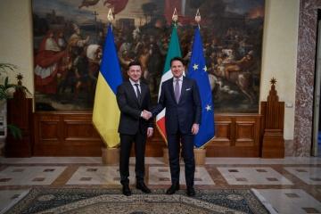 Zelensky exhorte Conte à fermer les bureaux des soi-disant Républiques populaires de Donetsk et de Louhansk en Italie