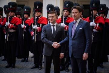 Selenskyj fordert Conte auf, illegale LNR/DNR-Büros in Italien zu schließen