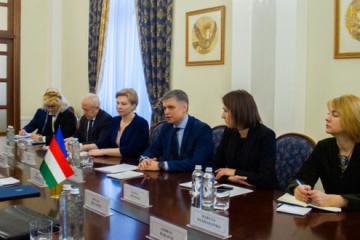 Außenminister Prystajko: Wir rechnen damit, dass Ungarn NATO-Ukraine-Dialog freigibt