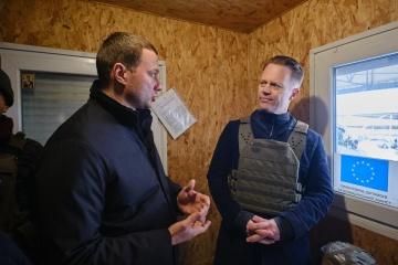 Le ministre des Affaires étrangères du Danemark s'est rendu dans le Donbass
