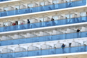 Two Ukrainians with coronavirus on board Diamond Princess in satisfactory condition - diplomat