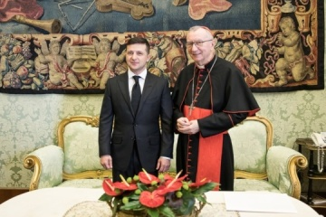 Zelensky, Vatican Secretary of State discuss humanitarian situation in Donbas