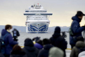 Another Ukrainian on board Diamond Princess contracts coronavirus