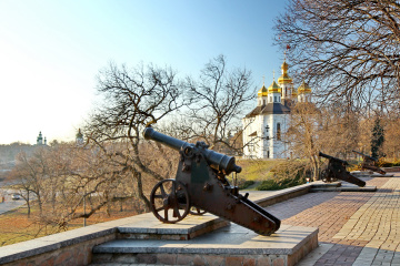 """Чернігівщина: туристична мапа """"Подорожуємо Україною"""""""