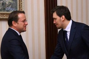 EU-Kommissar: EU wird auf Steigerung des Handels mit der Ukraine achten