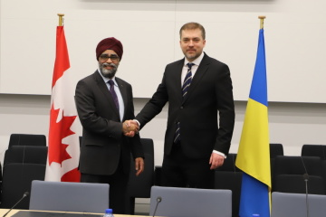 Defense ministers of Ukraine and Canada set priorities for bilateral military cooperation