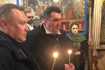Danilov in Iran honors memory of Ukrainians who died in UIA plane crash